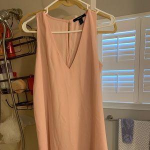 Dress from Forever 21. Light pink